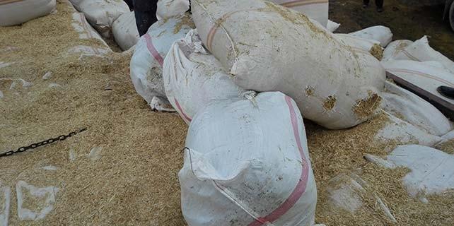 Konya'da kamyondan 60 kilo esrar çıktı