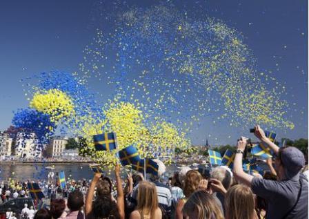 İsveçliler Avrupanın en mutlu üçüncü halkı...