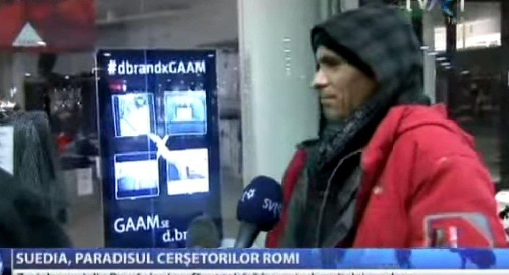 Romanya televizyonuna göre İsveç, dilenciler için cennet