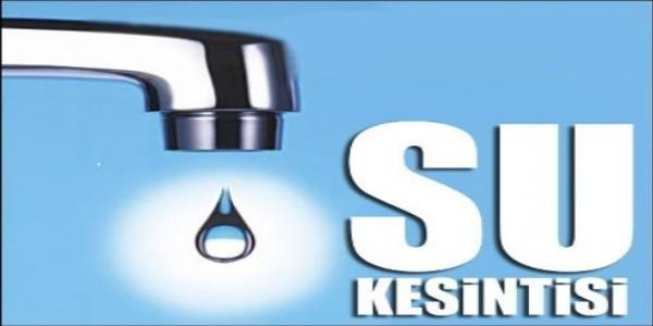 Yeniceoba'da su kesintisi