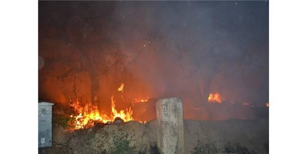 Kulu'da korkutan ot yangını