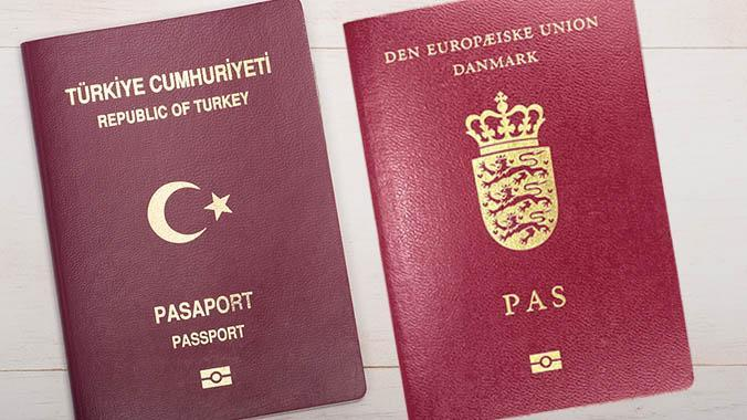 Çifte vatandaşlık kanunu bugün Danimarka'da yürürlüğe girdi