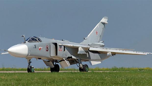 İşte Suriye sınırında düşürülen Rus uçağı