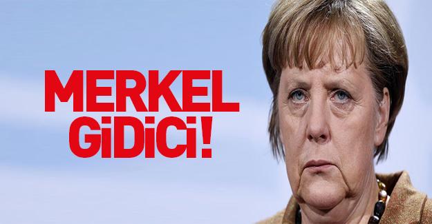 Almanya'da seçim anketinde Merkel geride kaldı