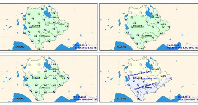 Meteoroloji uyardı! Konya'da kar ve don olayına dikkat!