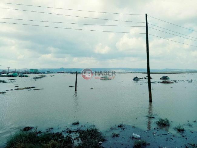 Yeniceoba'daki yağıştan son resimler