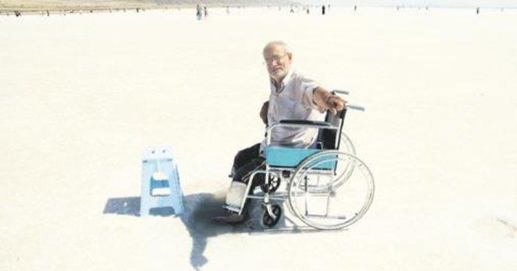 Şifa için Tuz Gölü'ndeler