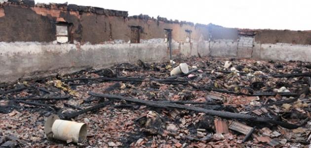 Altılar'daki ahır yangınında zarar 1 milyondan fazla