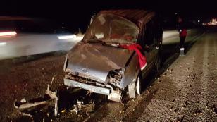 Konya'da kaza: Bu araçtan sağ çıktı