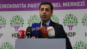 """Demirtaş: Türkiye'nin batısı """"Savaş bitsin"""" sesini yükseltmeli"""