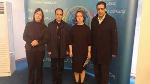 Açlık grevindeki HDP'li vekiller, AB ve BM yetkilileriyle görüştü