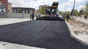 Cihanbeyli'de Asfaltlama Çalışmaları Devam Ediyor