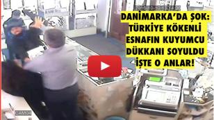 Türkiye kökenli esnafın kuyumcu dükkanı soyuldu