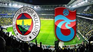 Fenerbahçe-Trabzonspor hangi kanalda saat kaçta?