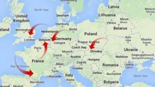Avrupa'yı taksiyle gezdi! 81 bin TL borcunu ödemeden kaçtı
