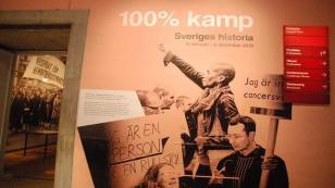 %100 mücadele-İsveç tarihi sergisinde işçi sınıfı mücadelesi yok