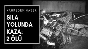 Konya'lı Gurbetçiler Sıla yolunda kaza yaptı : 2 ölü