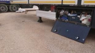 Uzun yoldan gelen tır sürücüsü Konya'da kalbine yenik düştü