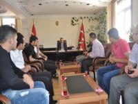 AKP Cihanbeyli Gençlik Kolları'ndan Kaymakamlık ve Hastane Ziyareti