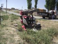 Kulu'da traktör devrildi: 1 yaralı