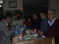 Kuşça'da Görev Yapan Öğretmenler Yemekte Buluştu