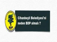 Cihanbeyli Belediyesi'ni neden BDP almalı ? Mulla Ceran