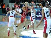 Kanada'yı 55-44 yenen A Milli Kadın Basketbol Takımı çeyrek finali garantiledi