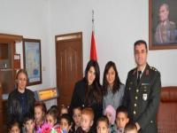 Kulu'da Minik Öğrencilerden Garnizon Komutanına Ziyaret