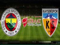 Fenerbahçe 1-2 Kayserispor maç özeti! Birbirinden güzel 3 gol!