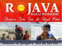 Rojava İçin Sen de Uzat Elini yardım konseri Kulu