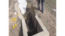Konya'da sulama kanalında yanmış bir erkek cesedi bulundu.