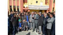 Kulu'da Araç Muayene İstasyonu için Protesto