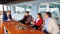 İsveç Büyükelçisinden Mudanya Belediyesi'ne Ziyaret