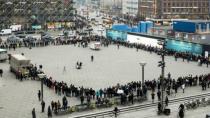 Kopenhag'da Müslümanlardan Barış Halkası