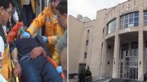 Konya'daki adliye sarayında sustalı dehşet!