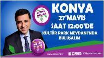 HDP Konya mitingine katılım çağrısı
