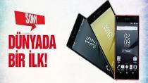 Sony'den 3 yeni telefon! Dünyada bir ilk!