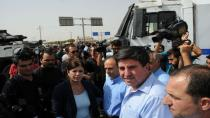 Selahattin Demirtaş'ın konvoyu durduruldu