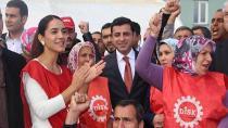 Demirtaş'tan işçilere: HDP iktidara geldiğinde bize karşı da direnin
