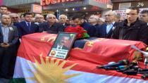 HAK-PAR Genel Başkanı Fehmi Demir için cenaze töreni düzenlendi.