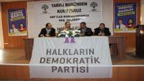 HDP'Lİ BOZDAĞ: HENDEK DEĞİL DİKTATÖRLÜK SAVAŞI