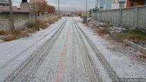 Yeniceoba'ya ilk kar düştü - Foto Galeri