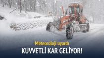 Dikkat: Kar yağışı geliyor!