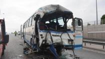 Konya'da zincirleme trafik kazası: 36 yaralı