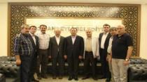 Bakan Bozdağ'dan Başkan Kale'yi Ziyaret
