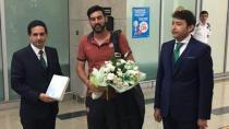 Shakhtar Donetsk kafilesi Konya'ya geldi