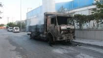 Konya'da yanan viyol fabrikası kullanılamaz hale gelidi