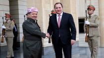 Barzani İsveç Başbakanı'nı kabul etti