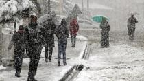Meteoroloji uyardı: Bu akşam kar geliyor, sıcaklıklar 10 derece düşecek