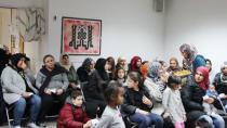 İsveç'teki sığınmacılara 500 koli yardım